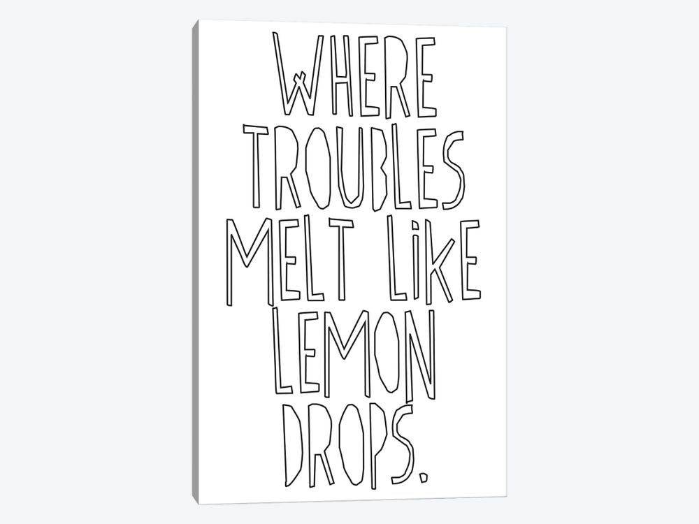Where Troubles Melt Like Lemon Drops I by Honeymoon Hotel 1-piece Canvas Wall Art