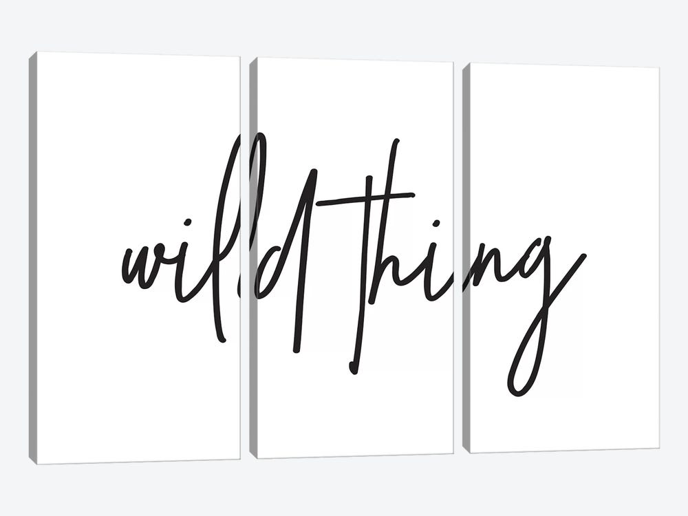 Wild Thing I by Honeymoon Hotel 3-piece Canvas Wall Art