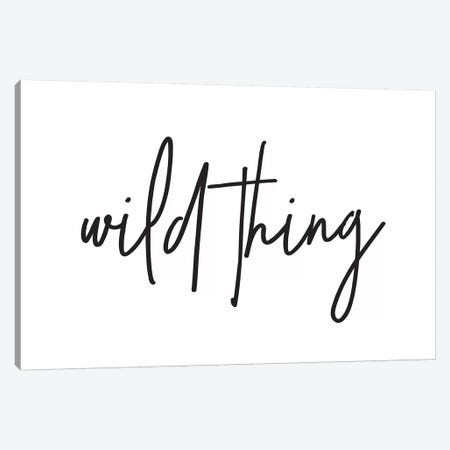 Wild Thing I Canvas Print #HON269} by Honeymoon Hotel Canvas Art