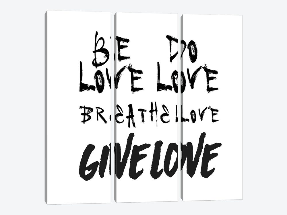 Be Love by Honeymoon Hotel 3-piece Canvas Art