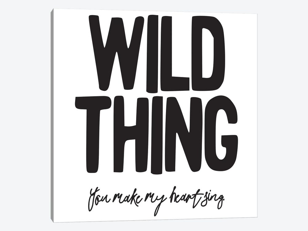 Wild Thing II by Honeymoon Hotel 1-piece Canvas Art