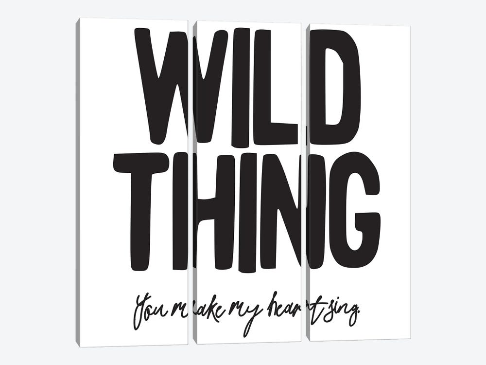 Wild Thing II by Honeymoon Hotel 3-piece Canvas Wall Art