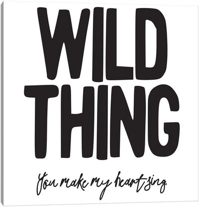 Wild Thing II Canvas Art Print