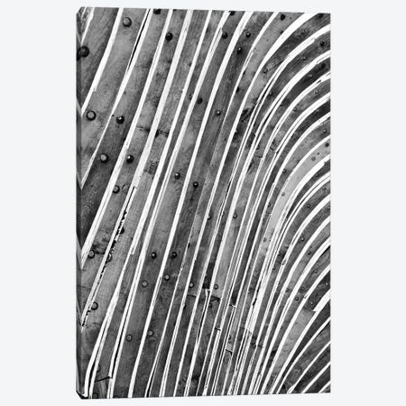 Wood Waves Canvas Print #HON271} by Honeymoon Hotel Canvas Print