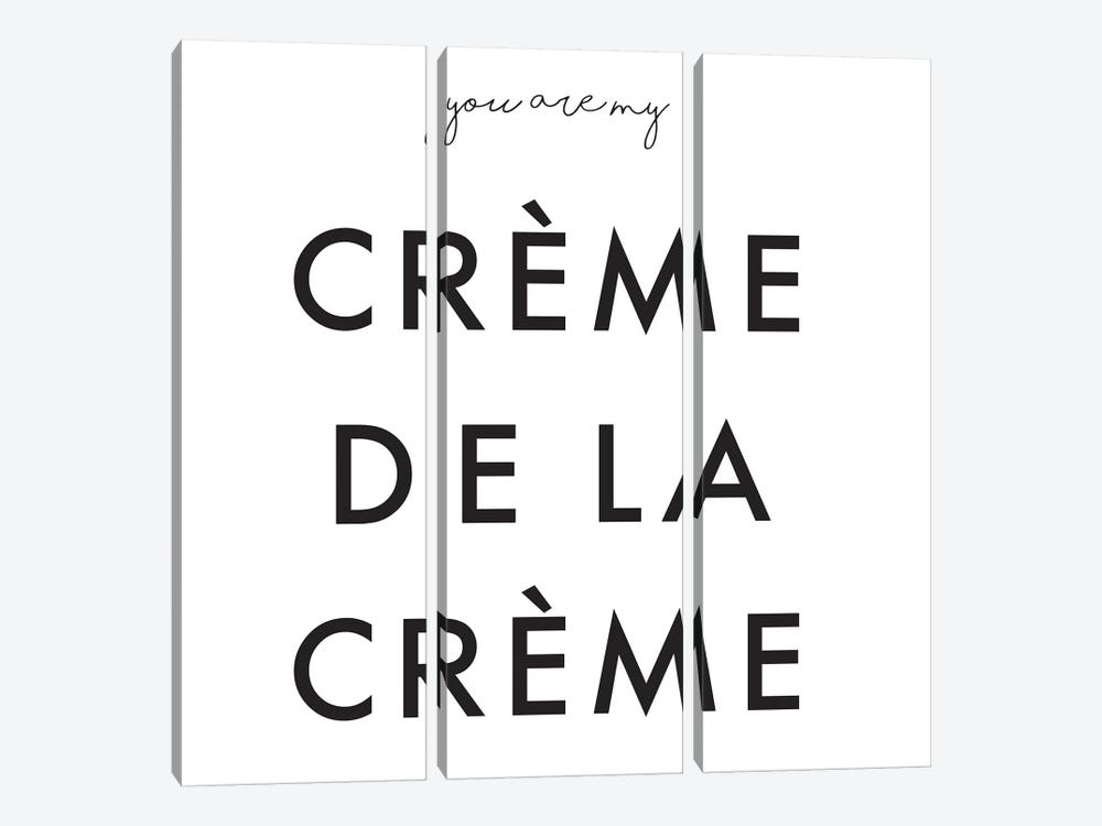 You Are My Crème de la Crème by Honeymoon Hotel 3-piece Canvas Wall Art