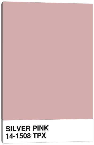 Silver Pink 14-1508 TPX Canvas Art Print