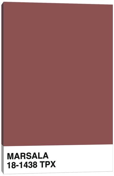 Marsala 18-1438 TPX Canvas Art Print