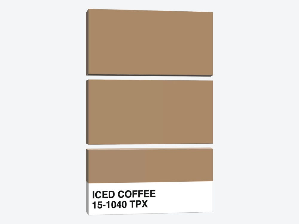 Iced Coffee 15-1040 TPX by Honeymoon Hotel 3-piece Canvas Art
