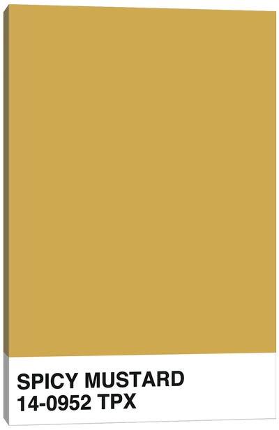 Spicy Mustard 14-0952 TPX Canvas Art Print