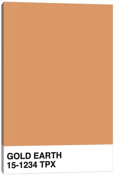 Gold Earth 15-1234 TPX Canvas Art Print