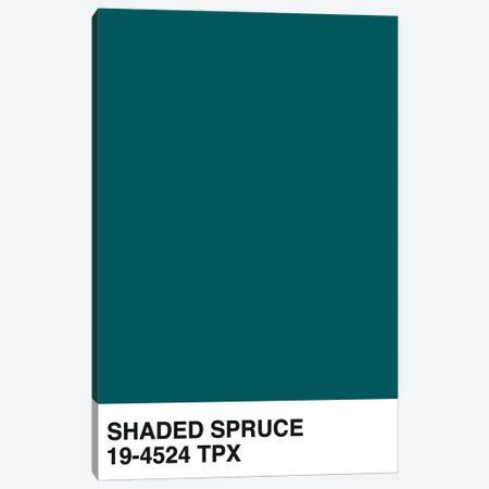 Shaded Spruce 19-4524 TPX Canvas Print #HON290} by Honeymoon Hotel Canvas Art Print