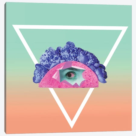 All Seeing Eye Canvas Print #HON291} by Honeymoon Hotel Canvas Art Print
