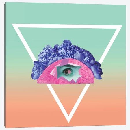 All Seeing Eye 3-Piece Canvas #HON291} by Honeymoon Hotel Canvas Art Print