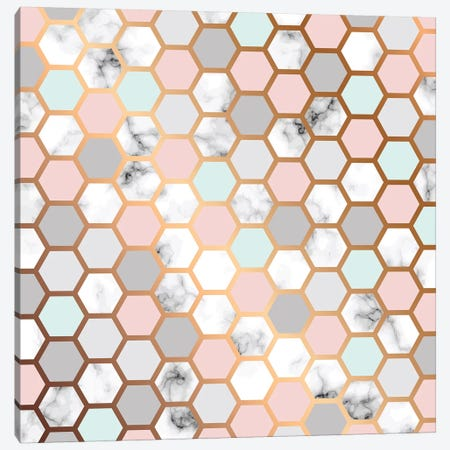 Honeybee Home Canvas Print #HON301} by Honeymoon Hotel Canvas Print