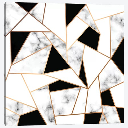 Marble Mosaic Canvas Print #HON306} by Honeymoon Hotel Canvas Art