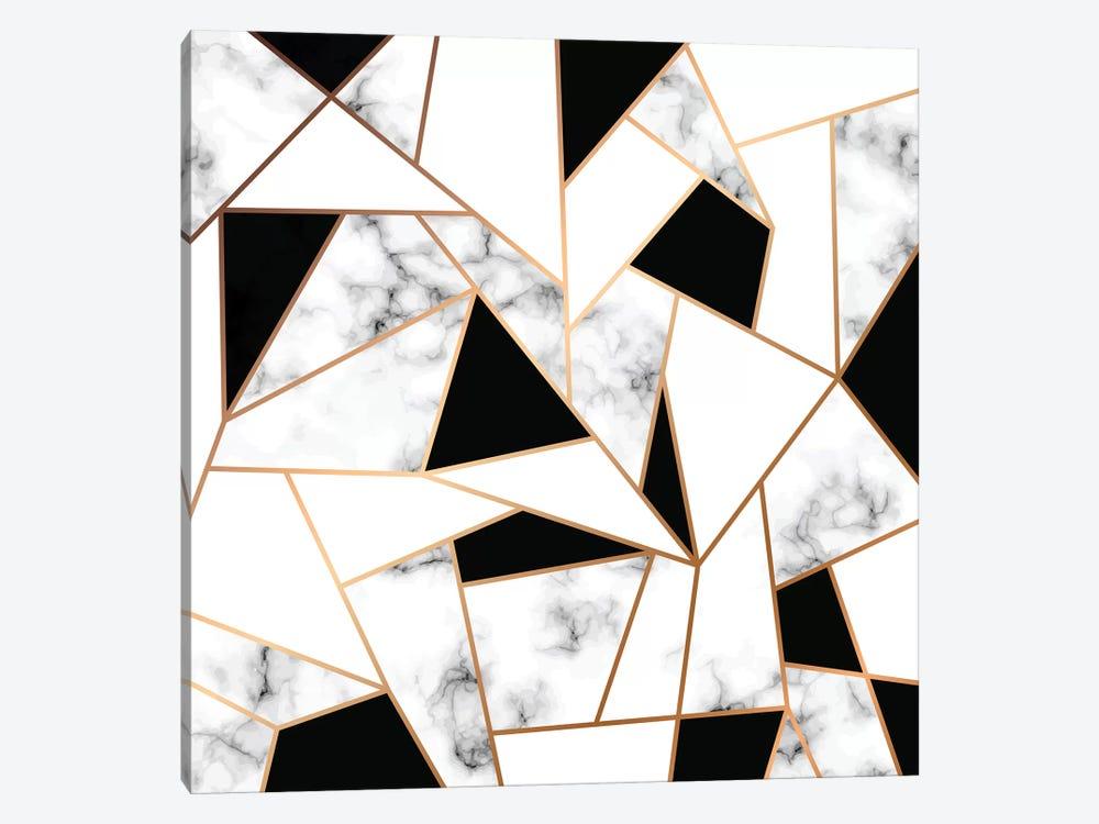 Marble Mosaic by Honeymoon Hotel 1-piece Canvas Artwork