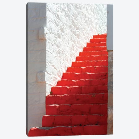 Red Hot Levels Canvas Print #HON311} by Honeymoon Hotel Canvas Art