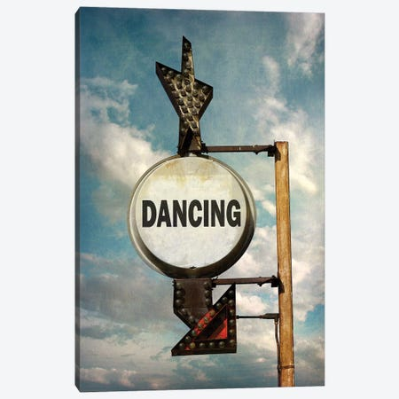 Dancing Canvas Print #HON324} by Honeymoon Hotel Canvas Wall Art