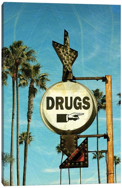 Drugs Canvas Art Print