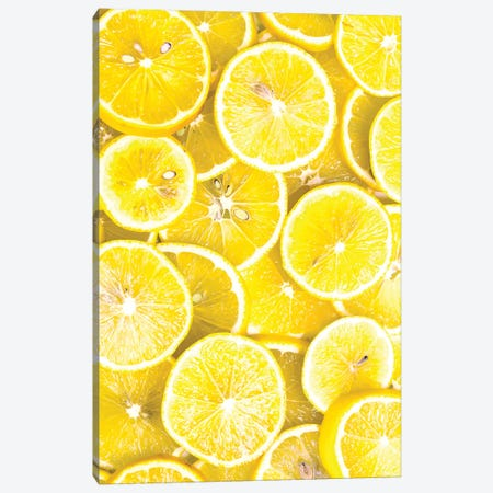Lemon Curd Canvas Print #HON326} by Honeymoon Hotel Canvas Artwork