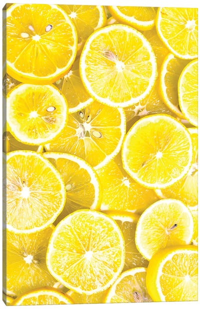 Lemon Curd Canvas Art Print