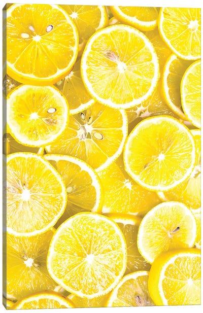 Lemon Curd Canvas Art Print