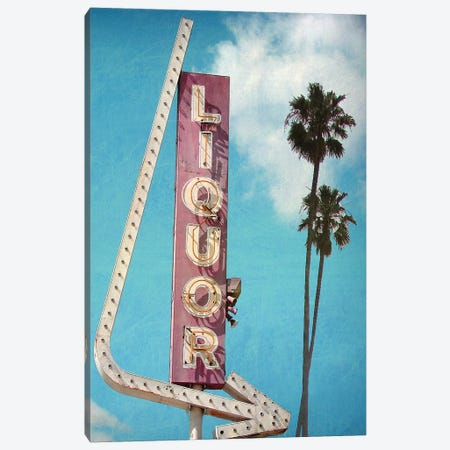 Liquor Canvas Print #HON329} by Honeymoon Hotel Art Print