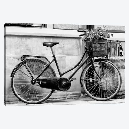 Rode My Bicycle Canvas Print #HON332} by Honeymoon Hotel Canvas Art