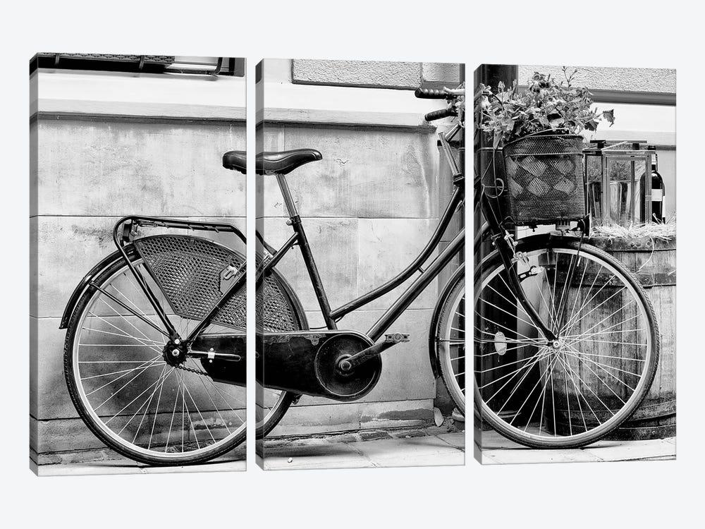Rode My Bicycle by Honeymoon Hotel 3-piece Art Print