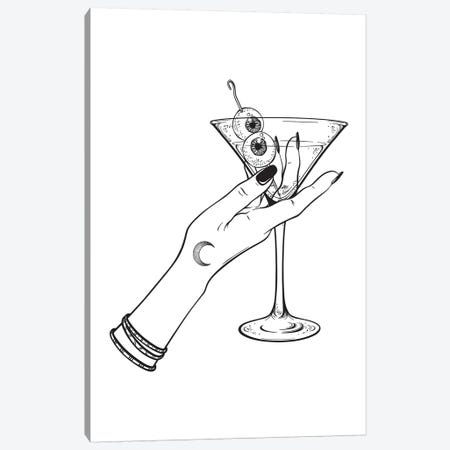 Cocktails Canvas Print #HON338} by Honeymoon Hotel Canvas Artwork