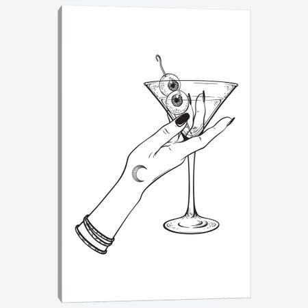 Cocktails Canvas Print #HON338} by Honeymoon Hotel Canvas Artwork