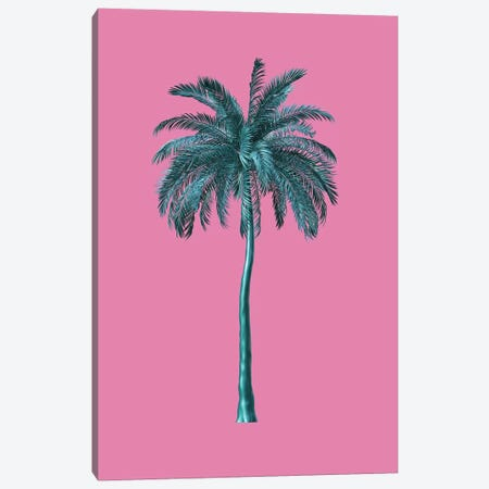 Tall Trees In Pink Canvas Print #HON354} by Honeymoon Hotel Canvas Print