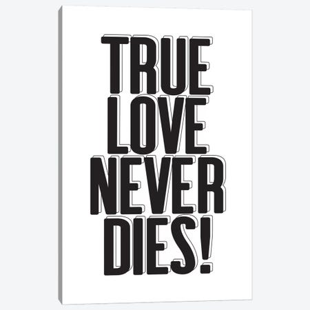 True Love Canvas Print #HON355} by Honeymoon Hotel Canvas Art Print