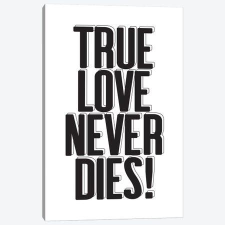 True Love Canvas Print #HON355} by Honeymoon Hotel Canvas Art Print