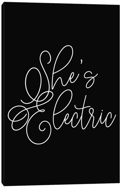 She's Electric Canvas Art Print