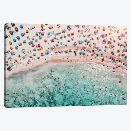 Beachy Canvas Print #HON378} by Honeymoon Hotel Canvas Wall Art