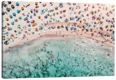Beachy Canvas Art Print