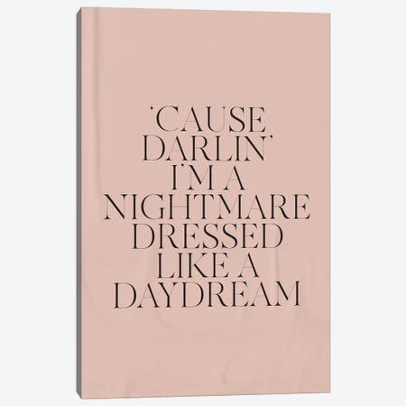 Daydream I Canvas Print #HON384} by Honeymoon Hotel Canvas Art