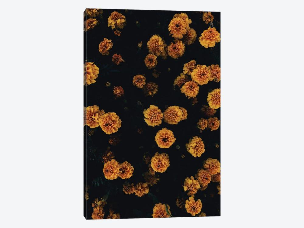 Golden Florals by Honeymoon Hotel 1-piece Canvas Print
