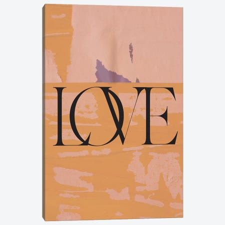 Old Love Canvas Print #HON423} by Honeymoon Hotel Canvas Art