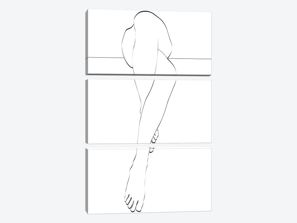 Le Legs by Honeymoon Hotel 3-piece Canvas Wall Art