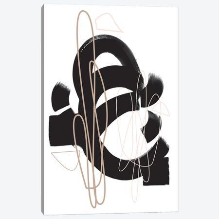 Numero I Canvas Print #HON455} by Honeymoon Hotel Canvas Wall Art