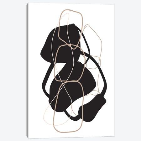 Numero II Canvas Print #HON456} by Honeymoon Hotel Canvas Artwork