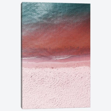 Pink Earth Canvas Print #HON458} by Honeymoon Hotel Art Print
