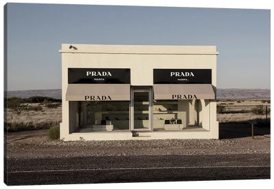 Prada Marfa Canvas Art Print