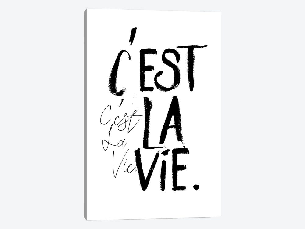 C'est la Vie by Honeymoon Hotel 1-piece Art Print