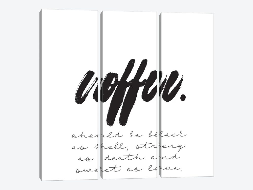 Coffee Should Be… 3-piece Canvas Print