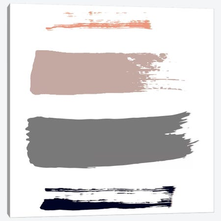 Color Swatches I Canvas Print #HON55} by Honeymoon Hotel Canvas Artwork