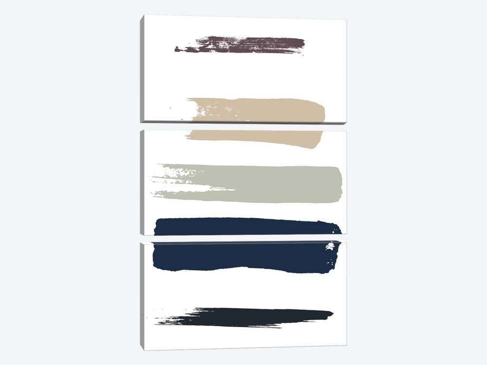 Color Swatches IV by Honeymoon Hotel 3-piece Art Print