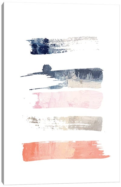 Color Swatches V Canvas Art Print